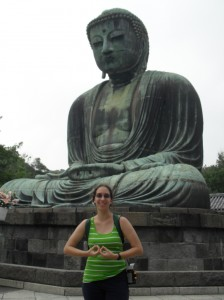 Chilling out with the Daibutsu in Kamakura