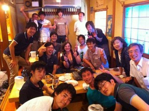 My lab and I on my last day in Japan