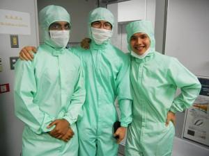 Laboratory visit