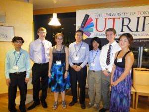 UTRIP FUTI recipients and Dr. Masaaki Yamada of FUTI