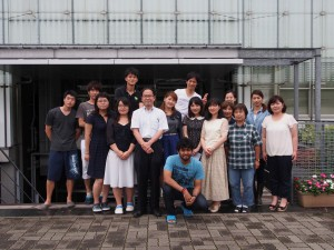 The wonderful members of the Mitani lab