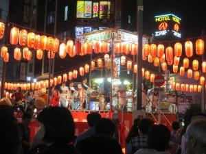 Summer festival in Sugamo