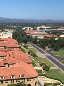 Stanford from tower