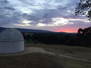 Telescope of astronomy class